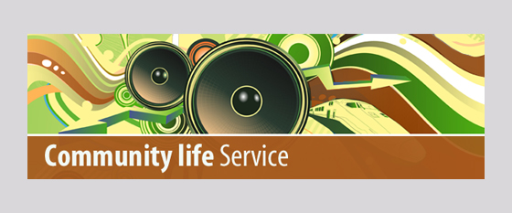 Community Life Service Graphic