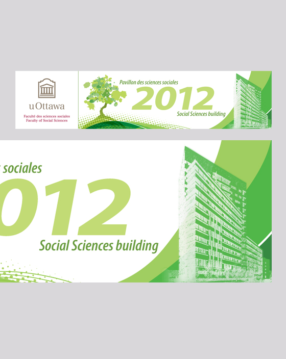 Social Sciences Building Banner