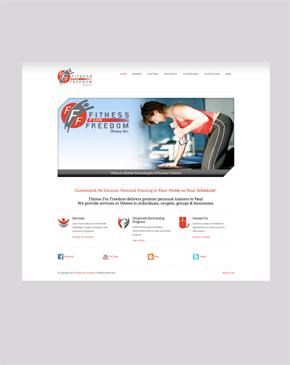 Fitness For Freedom Website